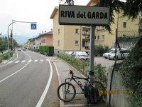 Erlebnisbericht Transalp: Molveno - Riva del Garda - Lago di Caldonazzo (Tag 6): Bild #3