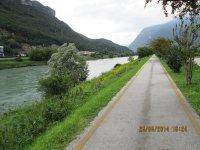 Erlebnisbericht Transalp: Molveno - Riva del Garda - Lago di Caldonazzo (Tag 6): Bild #8
