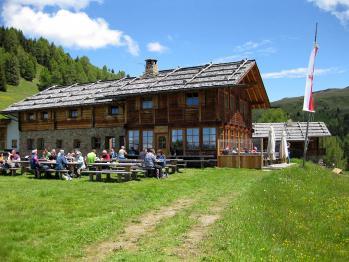 Schutzhütte Kreuzwiesenalm