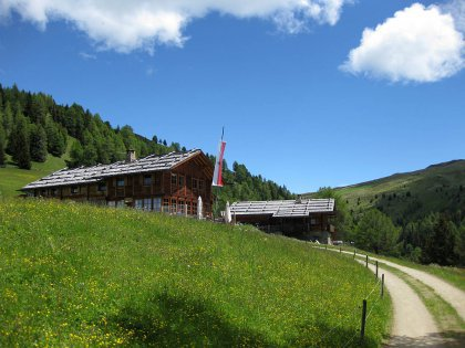 Schutzhütte Kreuzwiesenalm: Bild #4