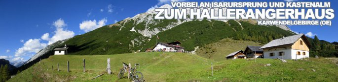 Tour des Monats November 2014: Von Scharnitz vorbei an Isarursprung und Kastenalm zum Hallerangerhaus