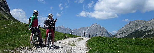 Die besten Mountainbike-Reviere: Biken im wilden Karwendel