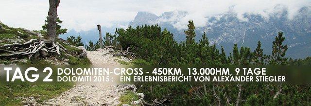 """Erlebnisbericht Dolomiten-Cross """"die große Acht"""": Rauf und runter (Tag 2)"""