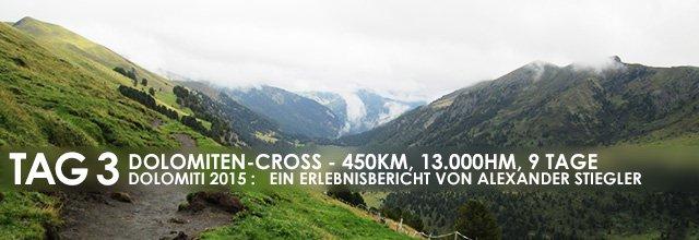 """Erlebnisbericht Dolomiten-Cross """"die große Acht"""": Schlamm und Felsen (Tag 3)"""