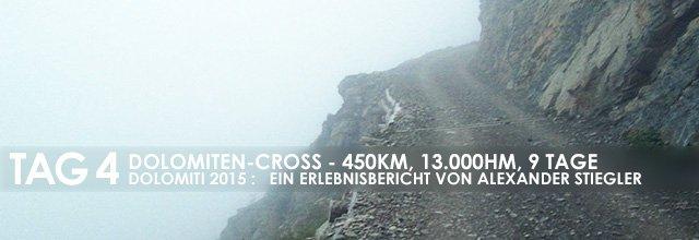 """Erlebnisbericht Dolomiten-Cross """"die große Acht"""": Abenteuer (Tag 4)"""