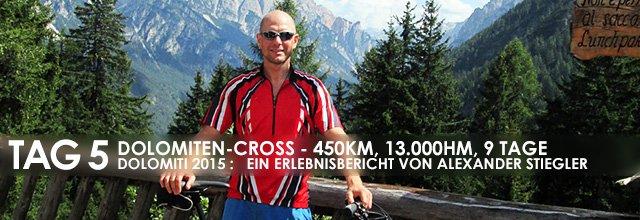 """Erlebnisbericht Dolomiten-Cross """"die große Acht"""": Treiben lassen (Tag 5)"""