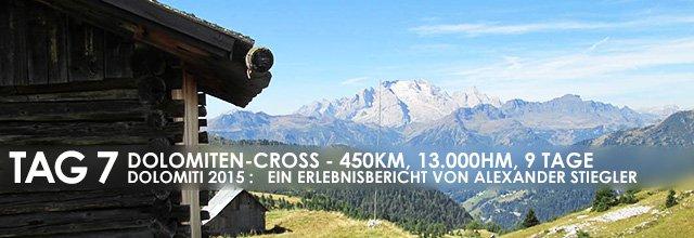 """Erlebnisbericht Dolomiten-Cross """"die große Acht"""": Marmolada nachholen (Tag 7)"""