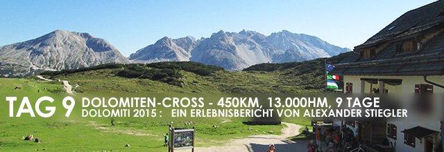 """Erlebnisbericht Dolomiten-Cross """"die große Acht"""": Die Suche nach dem finalen Weg (Tag 9)"""