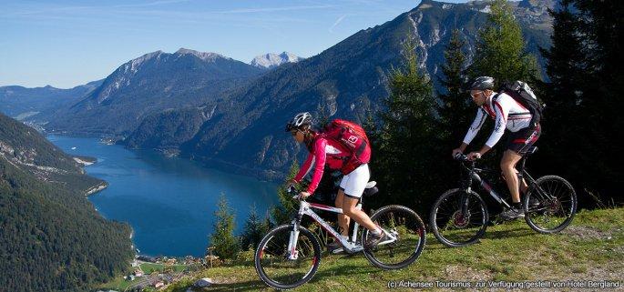 Die besten Mountainbike-Reviere: Biken am Tiroler Achensee