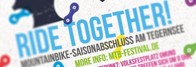 """Ride together"" Mountainbike Saison Abschlussfahrt Tegernseer Tal 2014"
