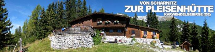 Tour des Monats Oktober 2014: Von Scharnitz zur Pleisenhütte im Karwendelgebirge