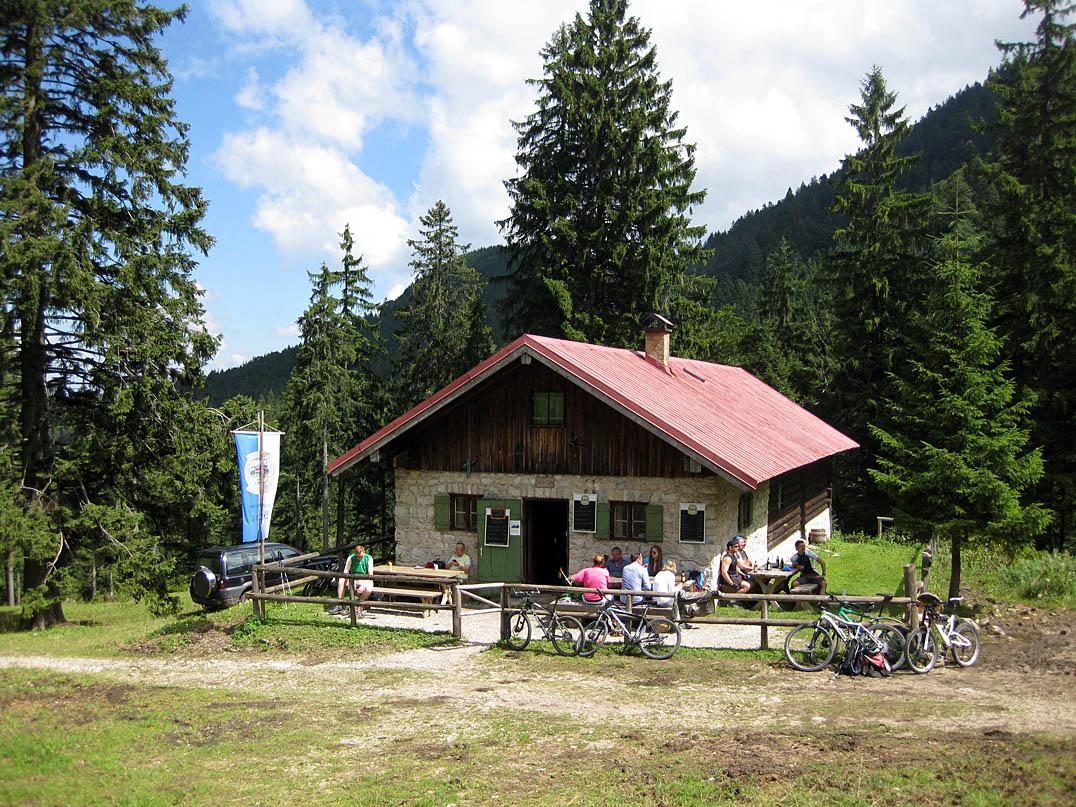 Orterer Alm - Bayerische Voralpen, Almen und Hütten in den Alpen ...